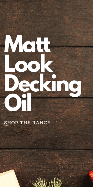 Matt Look Decking Oil